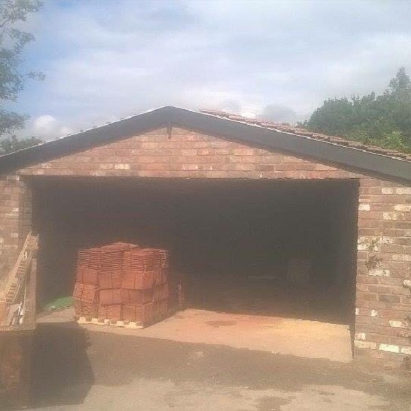 Garage Building Project